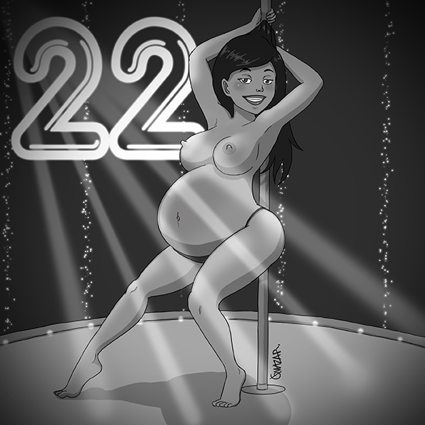 No. 22 Pregnant Stripper