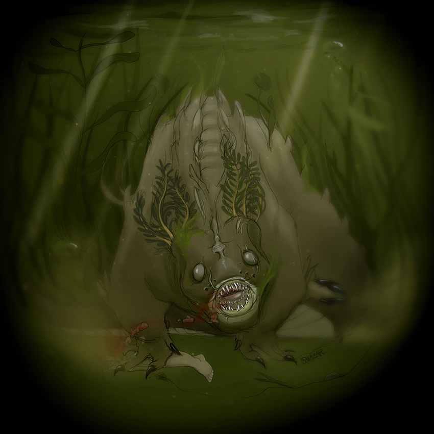 Thing in the swamp